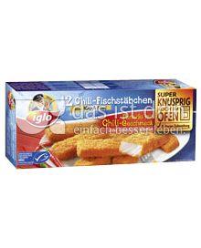 Produktabbildung: iglo Chili-Fischstäbchen 12 St.