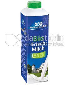 Produktabbildung: Weihenstephan Bio Frischmilch 1,5% Fett 1 l
