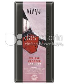 Produktabbildung: Vivani Weiße Erdbeer Joghurt 100 g