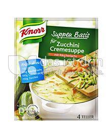 Produktabbildung: Knorr Suppen Basis für Zucchini Cremesuppe 1 St.