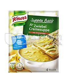 Produktabbildung: Knorr Suppen Basis für Zwiebel Cremesuppe 1 St.