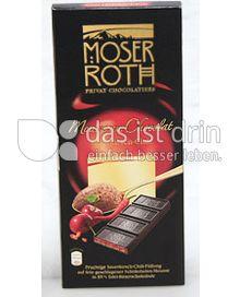 Produktabbildung: Moser Roth Mousse au Chocolat Sauerkirsch-Chili 187,5 g