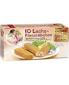 Produktabbildung: iglo Lachs-Filetstäbchen 10 St.