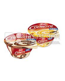 Produktabbildung: Zott Cremore Milchcreme-Dessert mit Vanillesoße 150 g