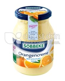 Produktabbildung: Söbbeke Orangencreme Bio Joghurt Mild 500 g