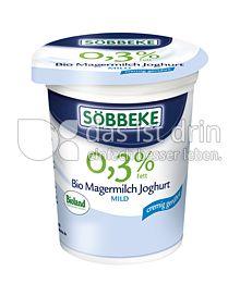 Produktabbildung: Söbbeke Bio Magermilch Joghurt Mild 500 g