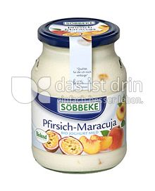 Produktabbildung: Söbbeke Pfirsich-Maracuja Bio Joghurt Mild 500 g