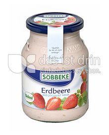 Produktabbildung: Söbbeke Erdbeere Bio Joghurt Mild 500 g