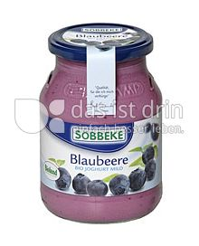 Produktabbildung: Söbbeke Blaubeere Bio Joghurt Mild 500 g