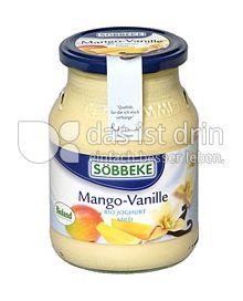 Produktabbildung: Söbbeke Mango-Vanille Bio Joghurt Mild 500 g