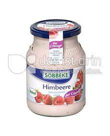 Produktabbildung: Söbbeke Himbeere Bio Joghurt Mild 500 g