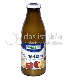 Produktabbildung: Söbbeke Kirsche-Banane Bio Joghurt Mild 1 l