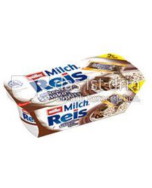 Produktabbildung: Müller Milchreis® mit Tütchen Schoko-Splits 207 g