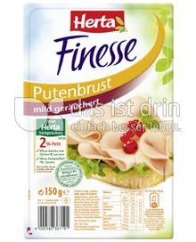 Produktabbildung: Herta Finesse Putenbrust mild geräuchert 150 g