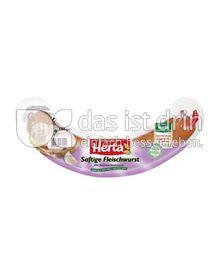 Produktabbildung: Herta Saftige Fleischwurst mit Knoblauch 500 g