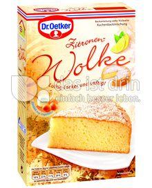 Produktabbildung: Dr. Oetker Zitronen-Wolke 450 g
