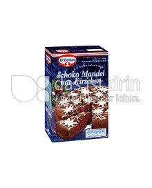 Produktabbildung: Dr. Oetker Winterliche Backideen Schoko Mandel mit Kirschen 0,422 g