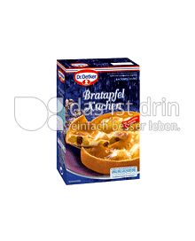 Produktabbildung: Dr. Oetker Winterliche Backideen Bratapfel Kuchen 0,422 g