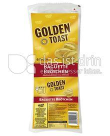 Produktabbildung: GOLDEN TOAST Baguette Brötchen 300g