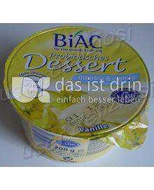 Produktabbildung: Biac Probiotisches Dessert Vanille 200 g