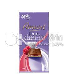 Produktabbildung: Milka Amavel Duo Himbeere auf Joghurt 130 g