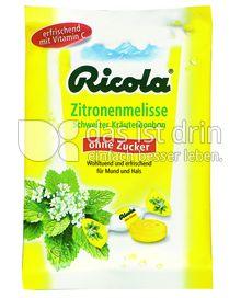 Produktabbildung: Ricola Zitronenmelisse 75 g