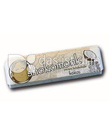 Produktabbildung: shokomonk Weisse Schokolade kokos 50 g