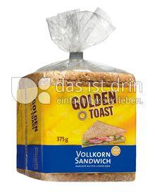 Produktabbildung: GOLDEN TOAST Vollkornsandwich 375 g