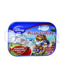Produktabbildung: Disney Piratenschatz - Pangasiusfilet in Tomaten-Apfel-Sauce 125 g