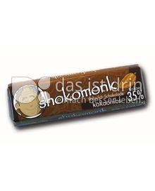 Produktabbildung: shokomonk Vollmilch Schokolade kakaonibs 50 g
