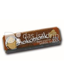 Produktabbildung: shokomonk Vollmilch Schokolade erdnuss 50 g