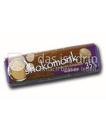 Produktabbildung: shokomonk Vollmilch Schokolade walnuss 50 g