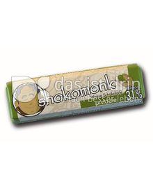 Produktabbildung: shokomonk Weisse Schokolade pistazie 50 g
