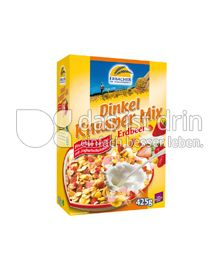 Produktabbildung: Erbacher - Ihr Dinkelspezialist Dinkel Knusper Mix Erdbeer 425 g