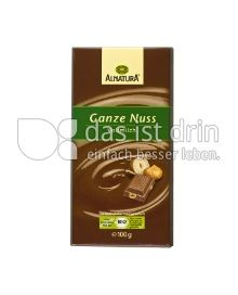 Produktabbildung: Alnatura Ganze Nuss Vollmilch 100 g