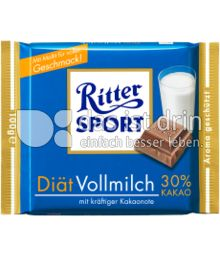 Produktabbildung: Ritter Sport Diät Vollmilch 30% Kakao 100 g