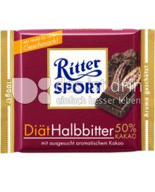 Produktabbildung: Ritter Sport Diät Halbbitter 50% Kakao 100 g