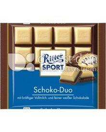 Produktabbildung: Ritter Sport Schoko- Duo 100 g