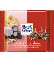 Produktabbildung: Ritter Sport Bio Trauben Cashew 65 g