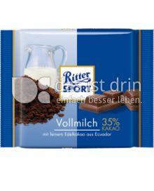 Produktabbildung: Ritter Sport Bio Vollmilch 35% Kakao 65 g