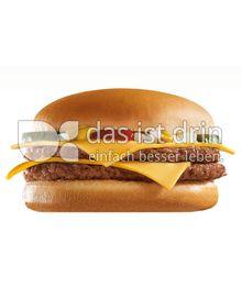 Produktabbildung: McDonald's Doppel- Cheeseburger 120 g