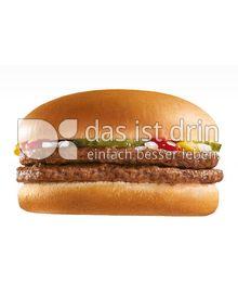Produktabbildung: McDonald's Doppel- Hamburger 0 g