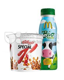 Produktabbildung: McDonald's Kellogg`s Special K und Biomilch