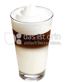 Produktabbildung: McDonald's Latte Macchiato mit Vollmilch tall