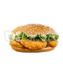 Produktabbildung: Burger King Chicken Nugget Burger 133 g