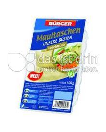 Produktabbildung: Bürger Maultaschen vegetarisch 400 g