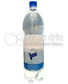 Produktabbildung: ja! Natürliches Mineralwasser 1,5 l