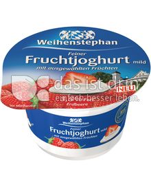 Produktabbildung: Weihenstephan Feiner Fruchtjoghurt mild Erdbeere 150 g