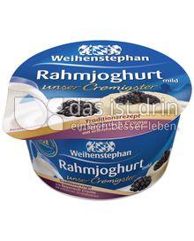 Produktabbildung: Weihenstephan Rahmjoghurt - Bayrische Creme Brombeer 150 g