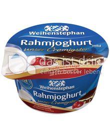 Produktabbildung: Weihenstephan Rahmjoghurt - Donauwelle 150 g